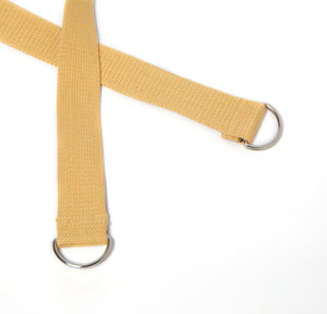 2-in-1 Yoga Mat Strap - Yellow - Flux Movement