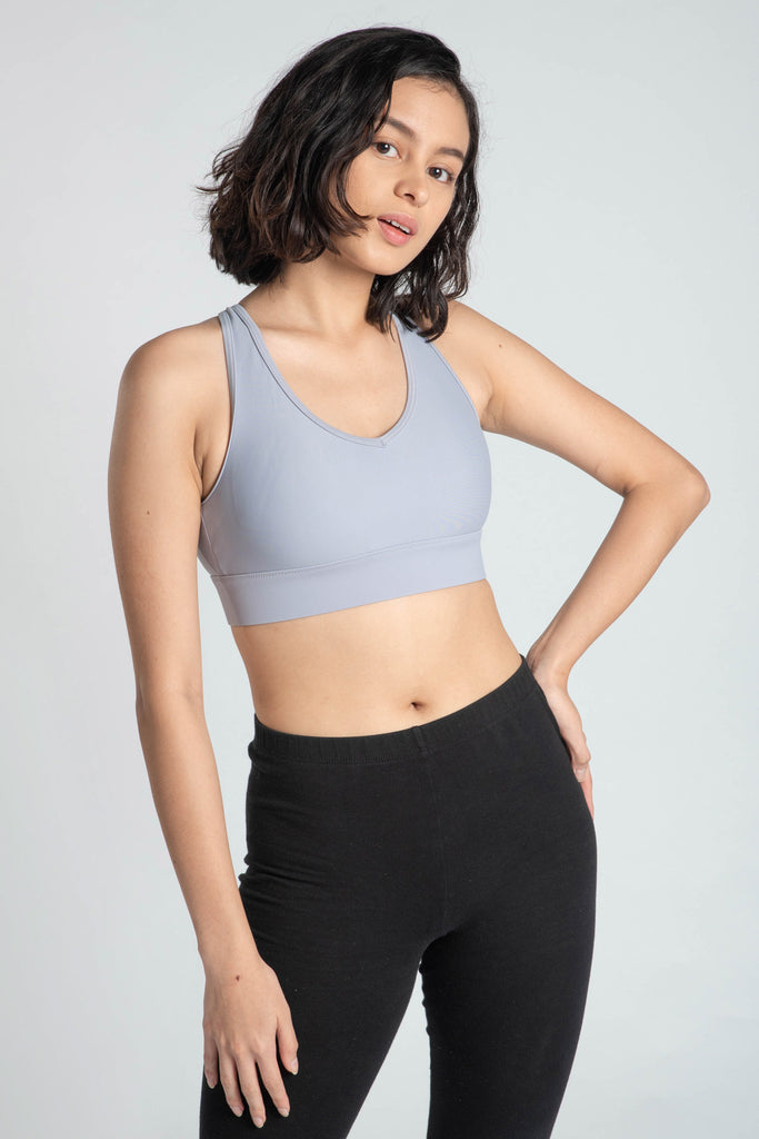 Bustle & Grind Bra - Periwinkle - Flux Movement