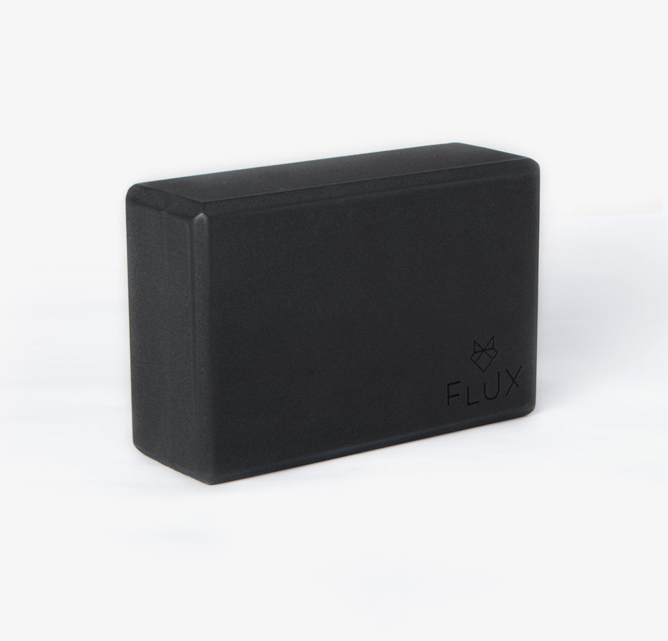 Feather Light Yoga Block - Black - Flux Movement