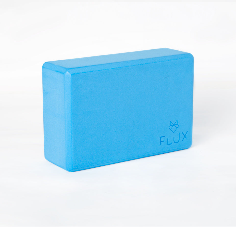 Feather Light Yoga Block - Blue - Flux Movement