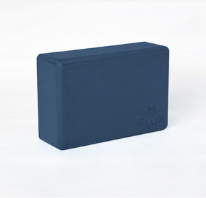 Feather Light Yoga Block - Navy - Flux Movement