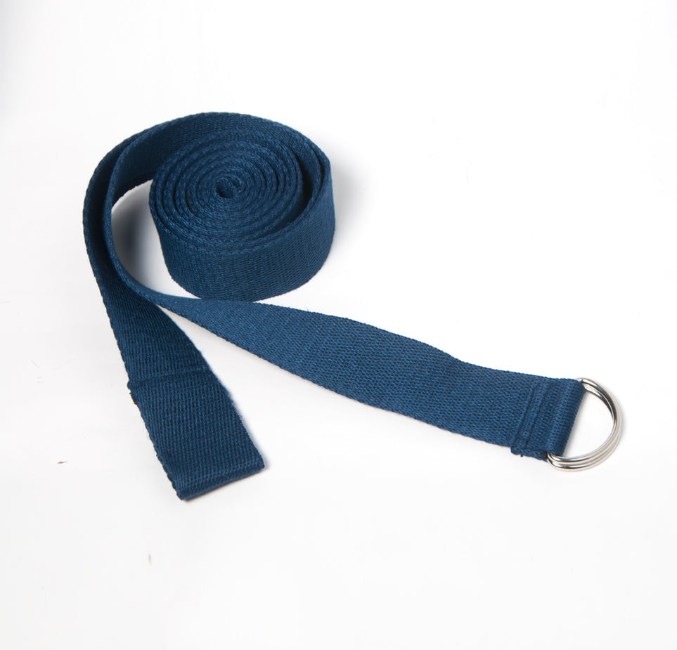 Yoga Strap (long) - Navy Blue - Flux Movement