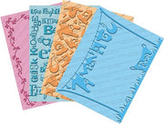Cuttlebug Wall Decor and More Embossing Folders Set