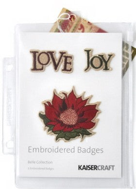 Kaisercraft Embroidered Badges Belle