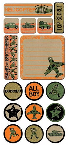 Samantha Walker Soldier Boy Chipboard