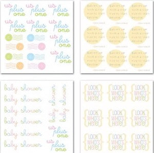 Baby Swatch Pack Rub-ons