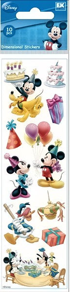 Disney Slims Mickey Birthday