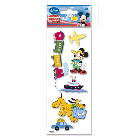 Disney Mickey Clubhouse Travel Dimensional Stickers