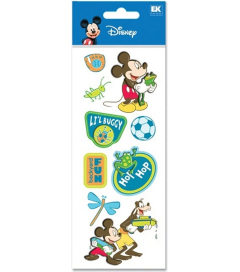 Disney Mickey Backyard Fun Stickers