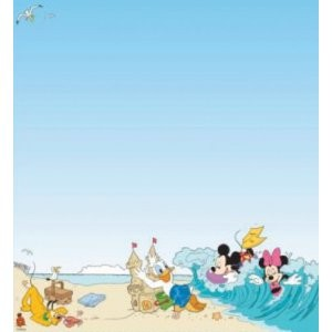 Disney Mickey Mouse Beach Paper