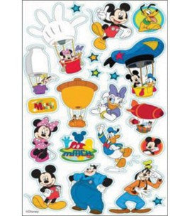Disney Classic Foil Stickers Mickey Mouse Clubhouse