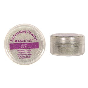 Abi's Craft Silver Embossing Powder