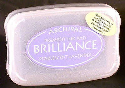 Brilliance Pearlescent Lavender Ink Pad
