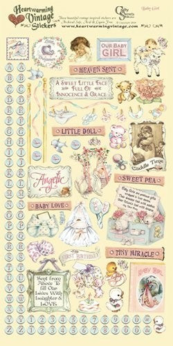 Crafty Secrets Baby Girl Stickers