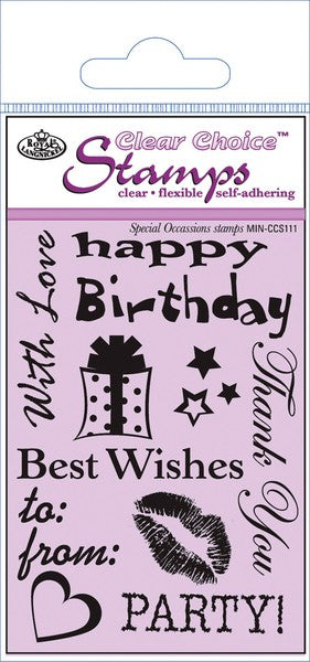 Special Occasions Clear Stamp Set