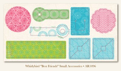 Whirlybird Best Friends Small Accessories