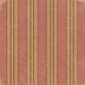 K & Co Brookfield Classic Awning Stripe Paper