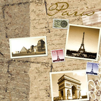 Stamping Station Paris Paper