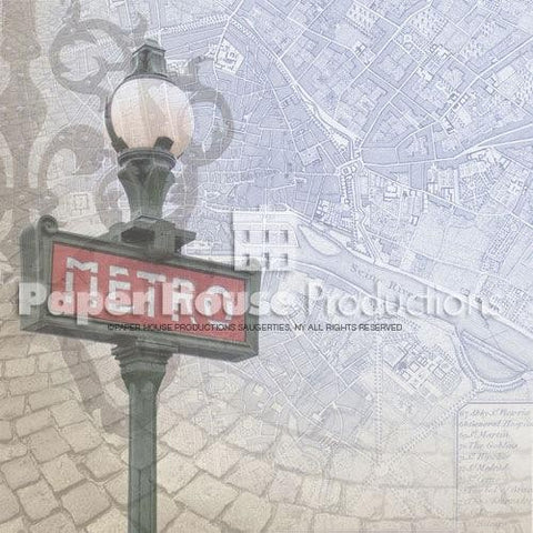 Paper House Paris Map Paper