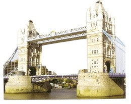 London Tower Bridge Diecut