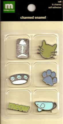 MM Charmed Enamel Cat