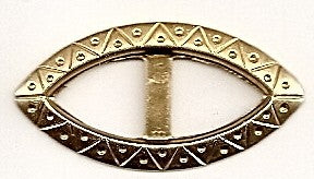 Gold Eye Buckle