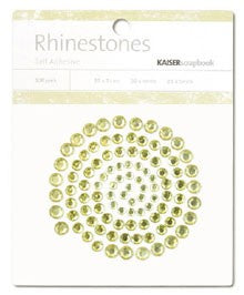 Rhinestones Yellow