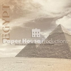 Paper House Egypt Pyramids Paper