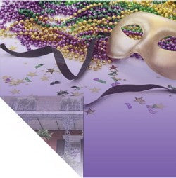 Art Warehouse Mardi Gras Paper