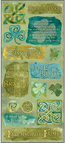 Emerald Isle Jumbo Stickers