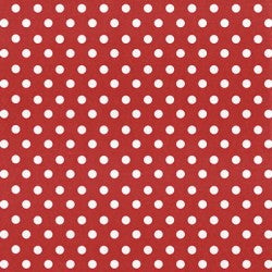 Creative Cafe Red Polka Dot Felt Sheet