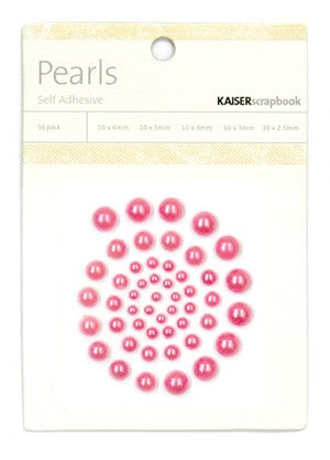 Kaisercraft Hot Pink Pearls