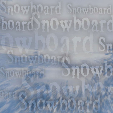 Stamping Station Snowboard Paper