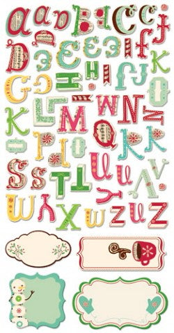 Jolly By Golly 6 inch Chipboard Sheet