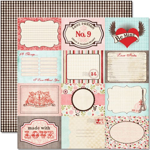 Cupid Postcards Paper