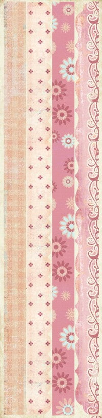 Laundry Line Flirty Embrace Chipboard Borders