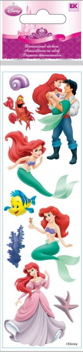 Disney Slims Little Mermaid Stickers