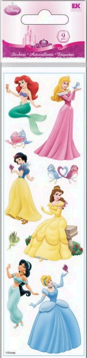Disney Slims Princess Stickers