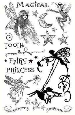Crafty Secrets Clear Fairy Stamp Set