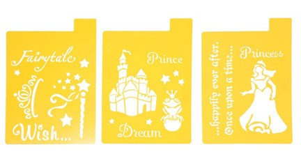 Stencil Mania Enchanted Fairytale 3 Pack