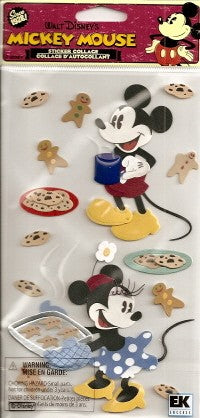 Vintage Mickey and Minnie Baking