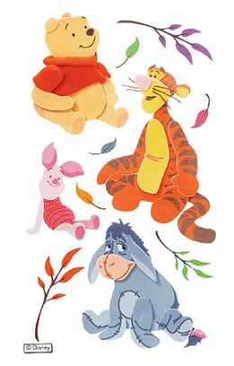Disney Winnie the Pooh Dimensional Stickers