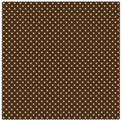 Holey Cardstock Chocolate Dot