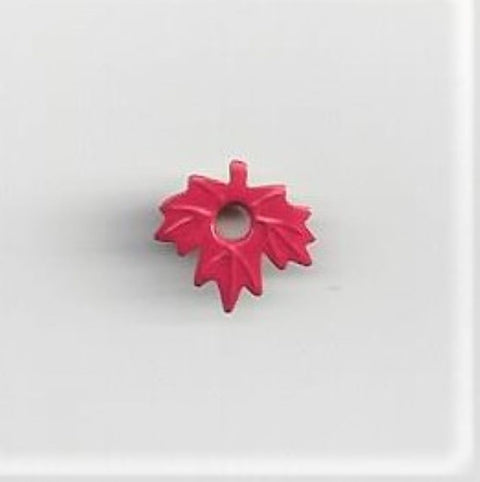 Maple Leaf Eyelet Red
