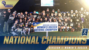 NCCA Soccer Champions - Sports Performance Tracking