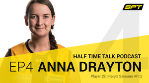 SPT Half Time Talk Podcast - Anna Drayton, St Mary's Football