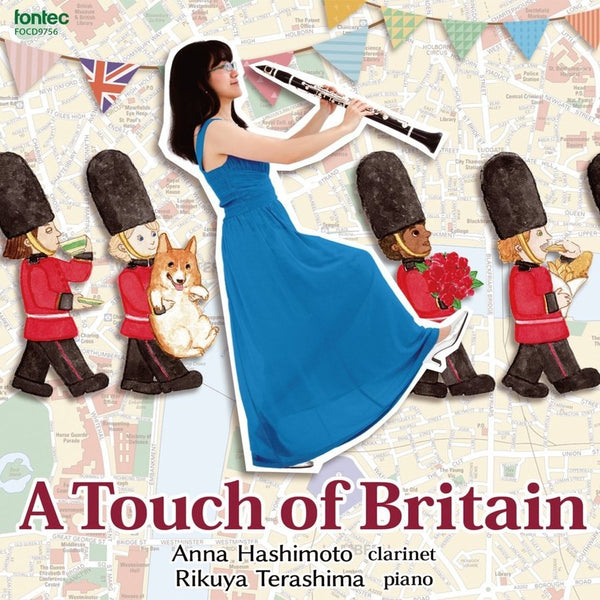 A Touch of Britain / Anna Hashimoto [Clarinet] [CD]