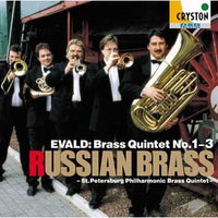 EVALD : Brass Quintet No. 1-3 / Russian Brass - St. Petersburg Brass Quintet [Brass Quintet] [CD]