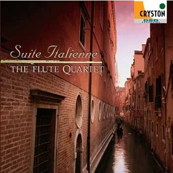 Suite Italienne / The Flute Quartet [Flute Quartet] [CD]
