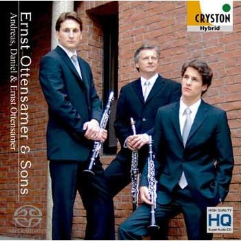 Ernst Ottensamer & Sons / Ernst, Daniel and Andreas Ottensamer / [Clarinet Trio] [CD]